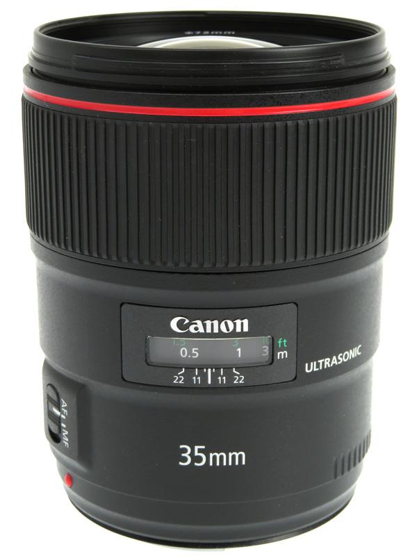 【Canon】キヤノン『EF35mm F1.4L II USM』EF3514L2 広角 一眼レフカメラ用レンズ 1週間保証【中古】b03e/h15AB
