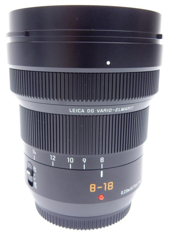 【Panasonic】パナソニック『LEICA DG VARIO-ELMARIT 8-18mm/F2.8-4.0 ASPH.』H-E08018 16-36mm相当 ミラーレス一眼カメラ用レンズ 1週間保証【中古】b02e/h12A