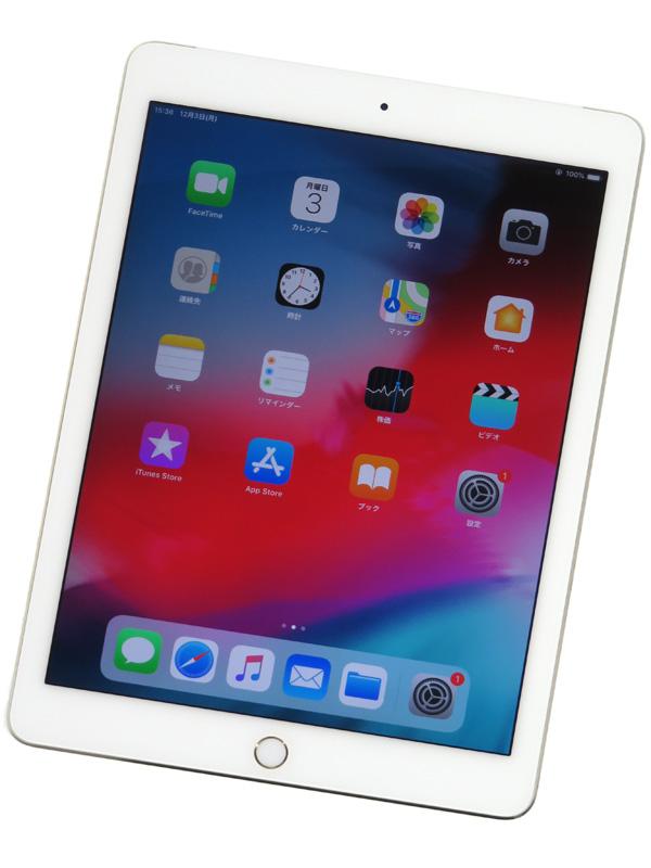 【Apple】【docomoのみ】アップル『iPad Air 2 Wi-Fi + Cellular 16GB』MH1C2J/A ゴールド iOS12.1 ○判定 タブレット型端末 1週間保証【中古】b03e/h11AB