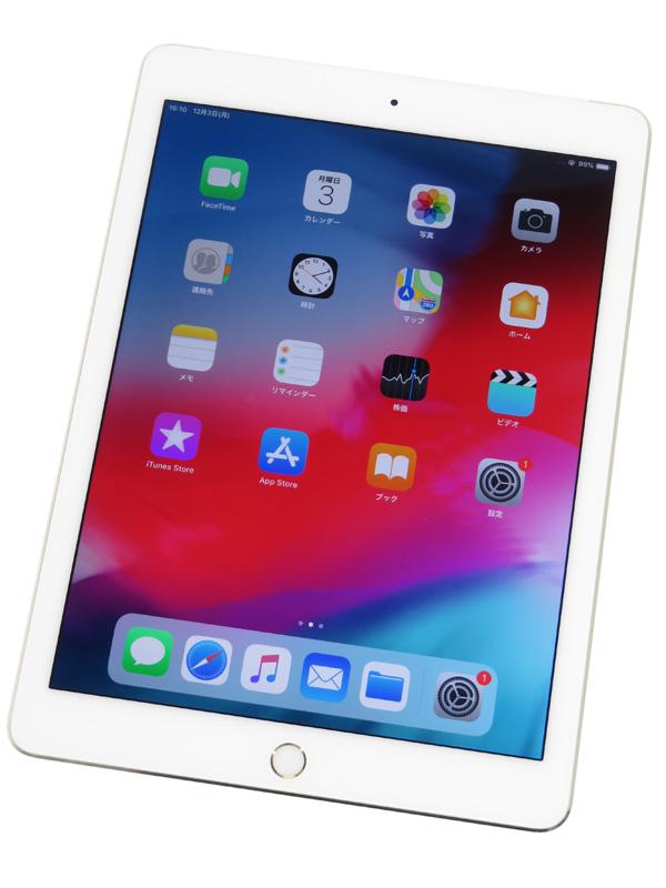 【Apple】【docomoのみ】アップル『iPad Air 2 Wi-Fi + Cellular 16GB』MH1C2J/A ゴールド iOS12.1 ○判定 タブレット型端末 1週間保証【中古】b03e/h06AB