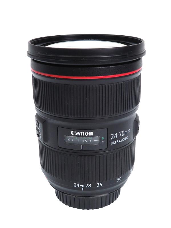 【Canon】キヤノン『EF24-70mm F2.8L II USM』EF24-70L2 防塵・防滴 大口径 標準ズーム 一眼レフカメラ用レンズ 1週間保証【中古】b03e/h06AB