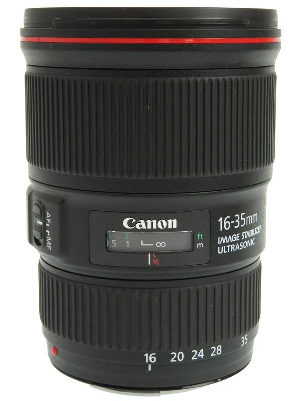 【Canon】キヤノン『EF16-35mm F4L IS USM』EF16-3540LIS 非球面 超広角ズーム 一眼レフカメラ用レンズ 1週間保証【中古】b02e/h12AB
