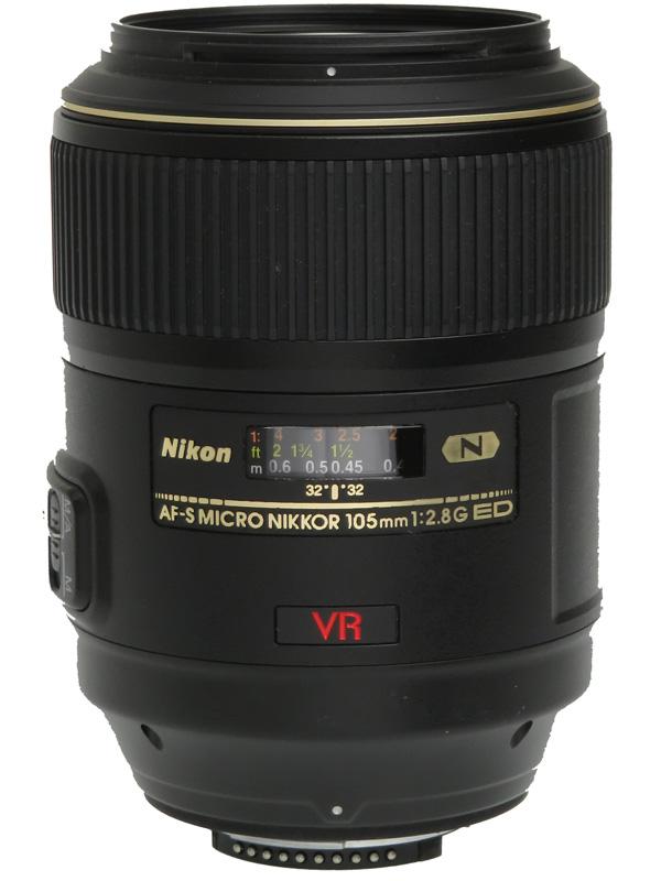 【Nikon】ニコン『AF-S VR Micro-Nikkor 105mm f/2.8G IF-ED』望遠マイクロ デジタル一眼レフカメラ用レンズ 1週間保証【中古】b03e/h11AB