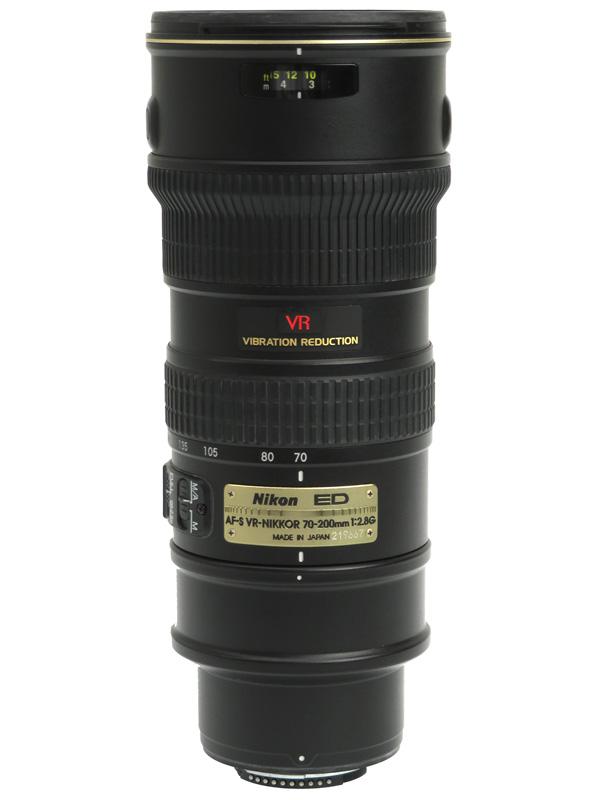 【Nikon】ニコン『AF-S VR Zoom-Nikkor ED 70-200mm F2.8G(IF)』AFSVR70-200G ブラック デジタル一眼レフカメラ用レンズ 1週間保証【中古】b03e/h11AB