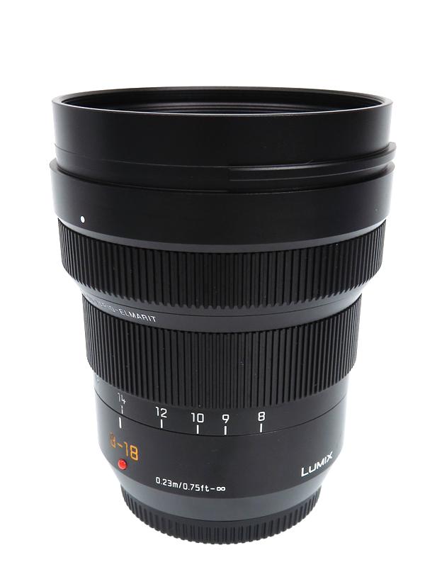 【Panasonic】パナソニック『LEICA DG VARIO-ELMARIT 8-18mm/F2.8-4.0 ASPH.』H-E08018 16-36mm相当 ミラーレス一眼カメラ用レンズ 1週間保証【中古】b03e/h07AB