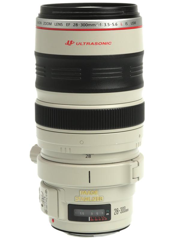 【Canon】キヤノン『EF28-300mm F3.5-5.6L IS USM』EF28-300LIS 一眼レフカメラ用レンズ 1週間保証【中古】b03e/h08B