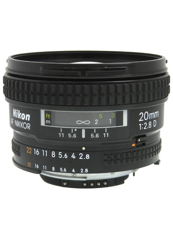 【Nikon】ニコン『AI AF Nikkor 20mm f/2.8D』一眼レフカメラ用レンズ 1週間保証【中古】b03e/h15B