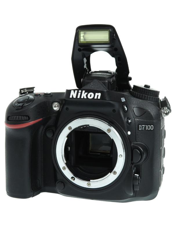【Nikon】ニコン『D7100』2410万画素 DXフォーマット ISO6400 フルHD動画 ボディー デジタル一眼レフカメラ 1週間保証【中古】b06e/h16B