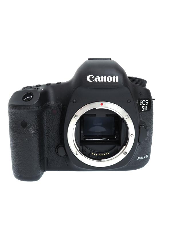 【Canon】キヤノン『EOS 5D Mark IIIボディー』EOS5DMK3 2230万画素 SDXC フルサイズ デジタル一眼レフカメラ 1週間保証【中古】b02e/h03AB