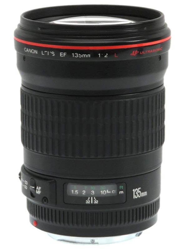 【Canon】キヤノン『EF135mm F2L USM』EF13520L 望遠単焦点 リアフォーカス 一眼レフカメラ用レンズ 1週間保証【中古】b02e/h19B