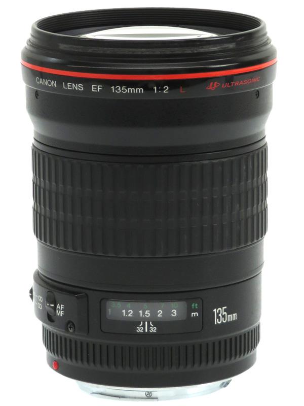 【Canon】キヤノン『EF135mm F2L USM』EF13520L 望遠単焦点 リアフォーカス 一眼レフカメラ用レンズ 1週間保証【中古】b02e/h03B