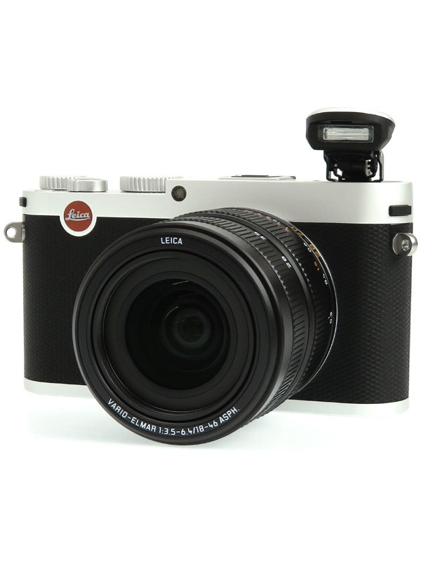 【Leica】ライカ『X Vario (Typ107)』18431 シルバー 1620万画素 28-70mm相当 コンパクトデジタルカメラ 1週間保証【中古】b03e/h14B