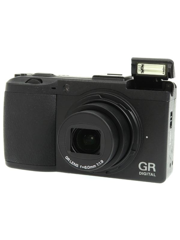 【RICOH】リコー『GR DIGITAL III』1000万画素 28mm相当 SDHC VGA動画 コンパクトデジタルカメラ 1週間保証【中古】b03e/h15B