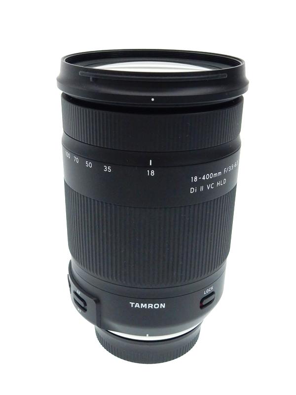 【TAMRON】タムロン『18-400mm F/3.5-6.3 Di II VC HLD』B028N ニコンDXフォーマット 28-620mm相当 デジタル一眼レフカメラ用レンズ 1週間保証【中古】b03e/h16AB