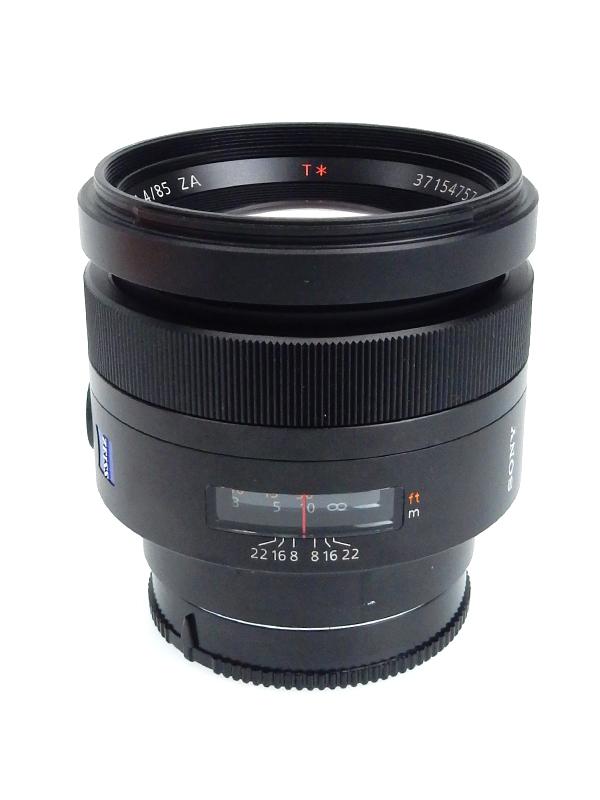 【SONY】ソニー『Planar T* 85mm F1.4 ZA』SAL85F14Z Aマウント ポートレート デジタル一眼カメラ用レンズ 1週間保証【中古】b03e/h16AB