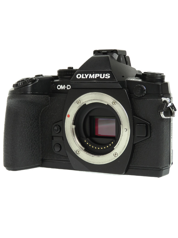 【OLYMPUS】オリンパス『OLYMPUS OM-D E-M1』ブラック 1605万画素 SDXC ボディーのみ ミラーレス一眼カメラ 1週間保証【中古】b03e/h20B