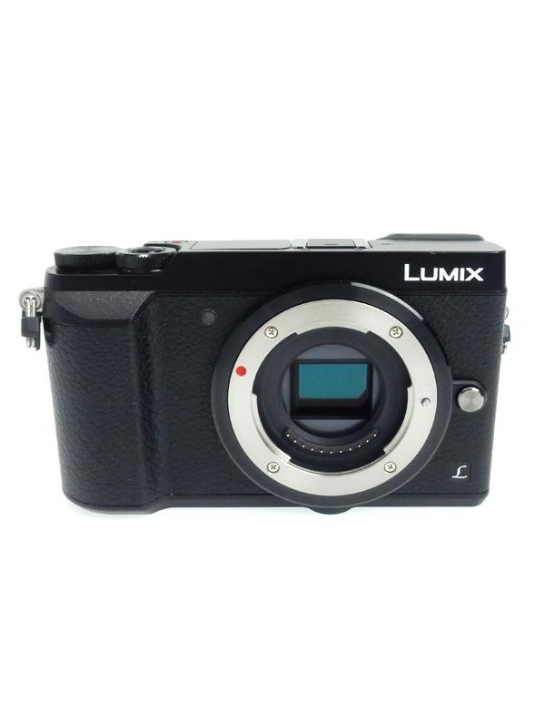 【Panasonic】パナソニック『LUMIX DMC-GX7MK2 ボディ』DMC-GX7MK2 ブラック 1600万画素 ボディ SDXC 4K 5軸手ブレ補正 デジタルカメラ【中古】b03e/h20AB