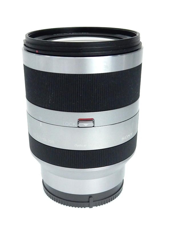 【SONY】ソニー『E18-200mm F3.5-6.3 OSS』SEL18200 Eマウント 27-300mm相当 デジタル一眼カメラ用レンズ 1週間保証【中古】b06e/h18AB