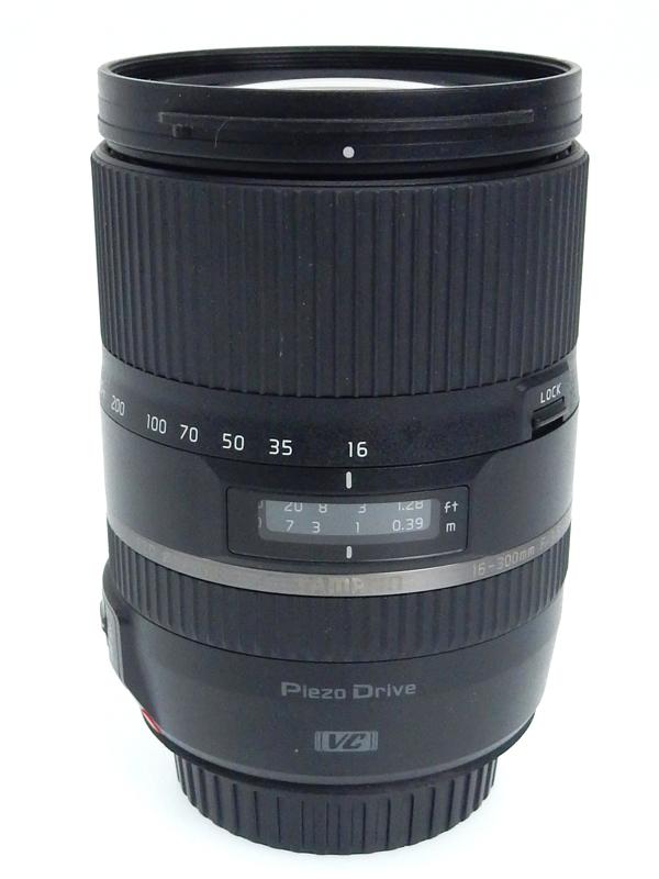 【TAMRON】タムロン『16-300mm F/3.5-6.3 Di II VC PZD MACRO』B016E キヤノンEF-Sマウント 25-465mm相当 デジタル一眼レフカメラ用レンズ 1週間保証【中古】b03e/h14AB