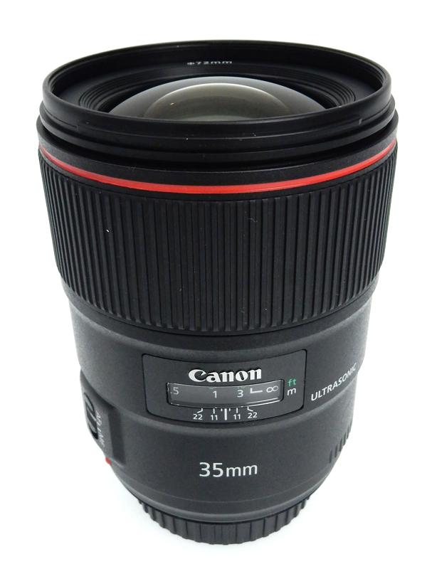 【Canon】キヤノン『EF35mm F1.4L II USM』EF3514L 2大口径広角単焦点レンズ 広角 一眼レフカメラ用レンズ 1週間保証【中古】b03e/h11AB
