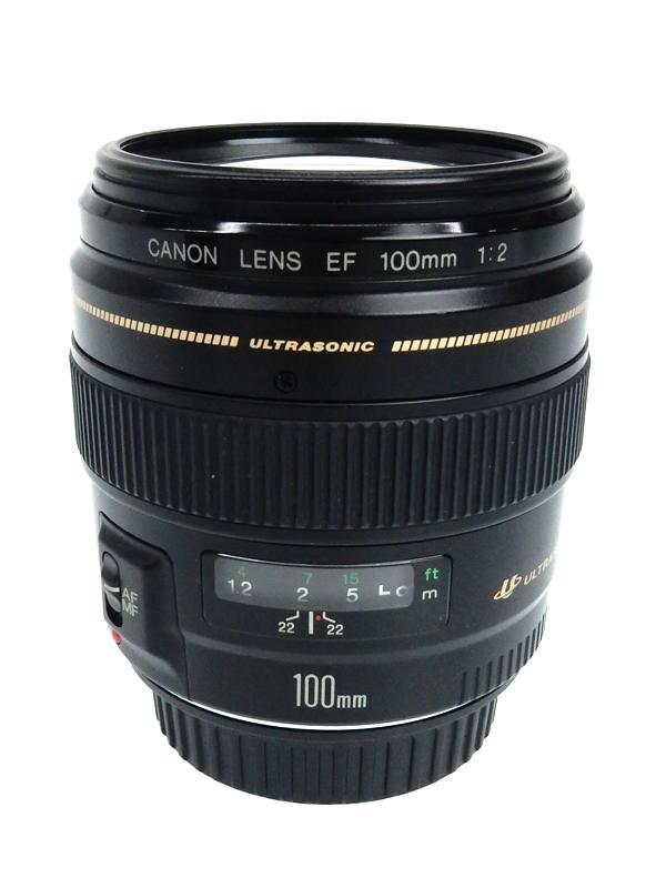 【Canon】キヤノン『EF100mm F2 USM』EF10020U リングUSM リアフォーカス レンズ 1週間保証【中古】b03e/h14AB