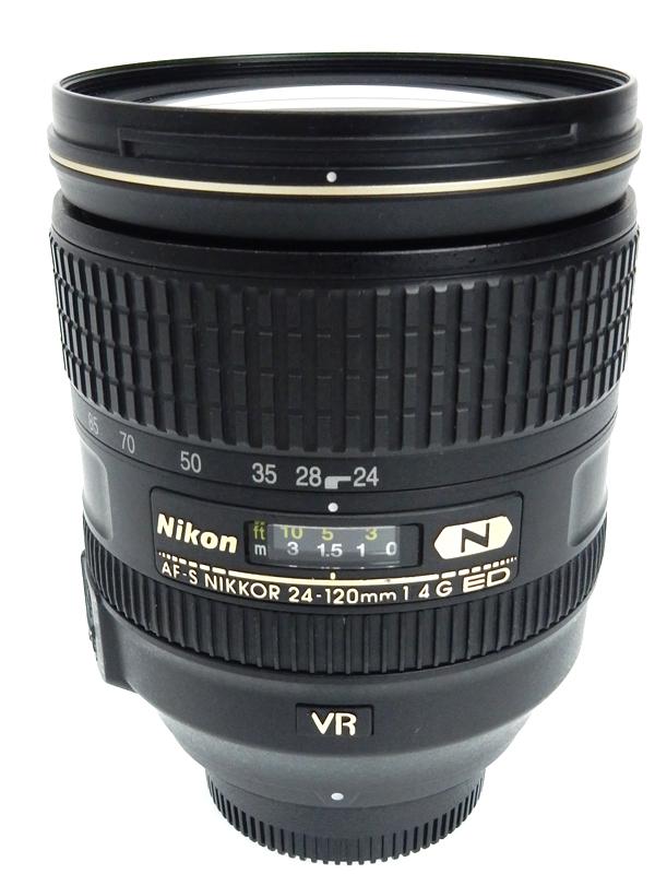 【Nikon】ニコン『AF-S NIKKOR 24-120mm f/4G ED VR』FXフォーマット デジタル一眼レフカメラ用レンズ 1週間保証【中古】b03e/h06AB