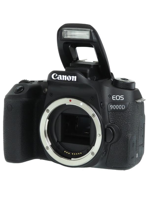 【Canon】キヤノン『EOS 9000D ボディ』EOS9000D 2420万画素 APS-C 45測距点 デジタル一眼レフカメラ 1週間保証【中古】b02e/h19AB
