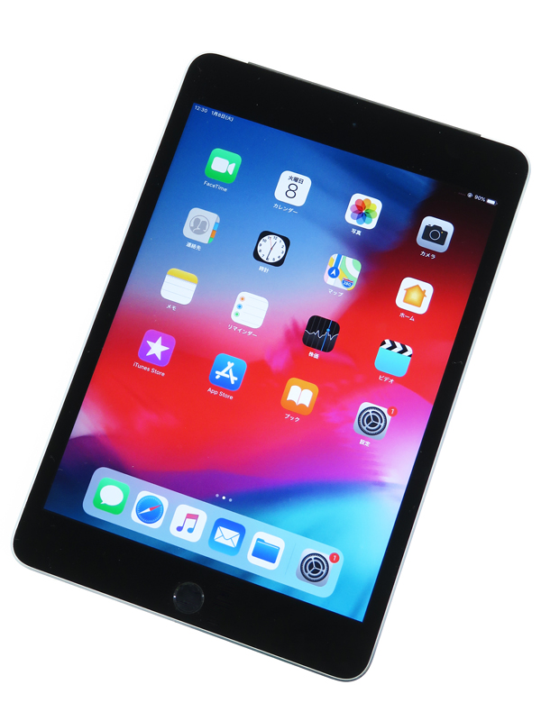 【Apple】【Softbankのみ】アップル『iPad mini 4 Wi-Fi + Cellular 64GB Softbank』MK722J/A iOS12.1.1 タブレット 1週間保証【中古】b06e/h17AB