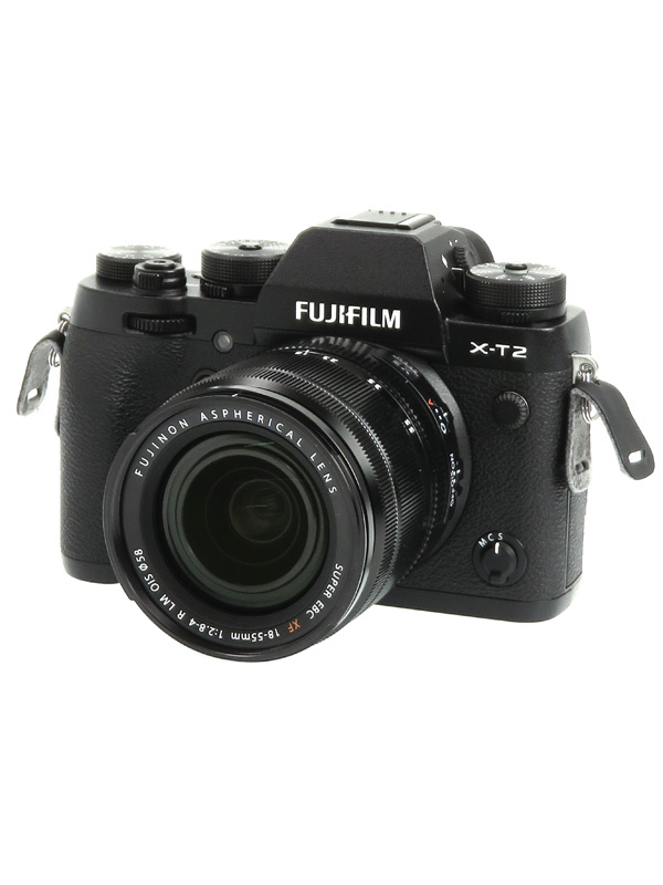 【FUJIFILM】富士フイルム『X-T2ズームレンズキット』F X-T2LK-B 2430万画素 APS-C ミラーレス一眼カメラ 1週間保証【中古】b02e/h02AB