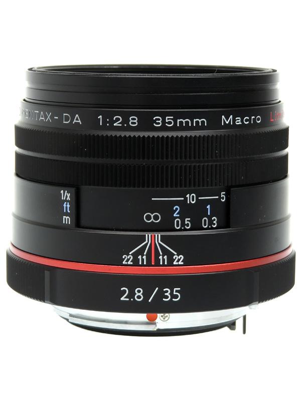 【PENTAX】ペンタックス『HD PENTAX-DA 35mmF2.8 Macro Limited』53.5mm相当 デジタル一眼レフカメラ用レンズ 1週間保証【中古】b03e/h20AB