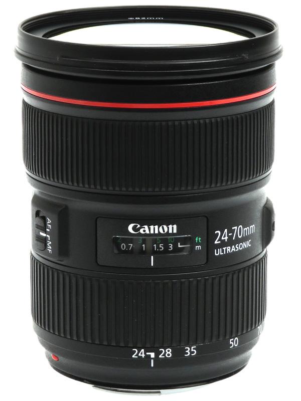 【Canon】キヤノン『EF24-70mm F2.8L II USM』EF24-70L2 大口径 標準ズーム 一眼レフカメラ用レンズ 1週間保証【中古】b03e/h06B