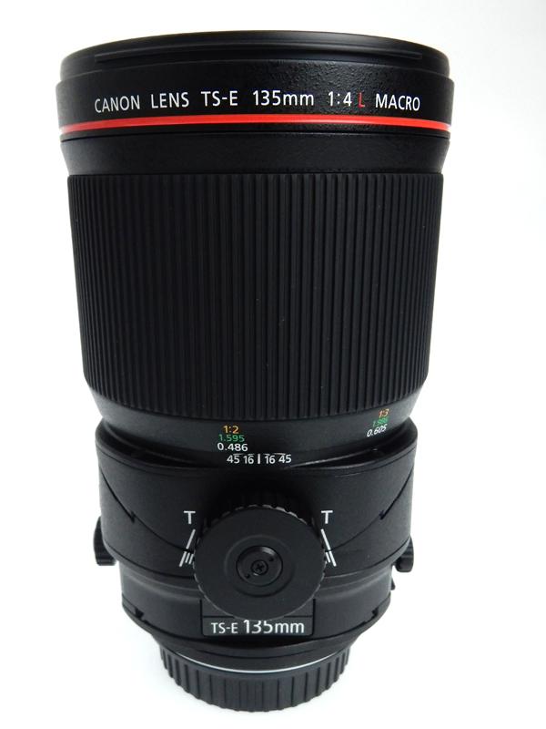 【Canon】キヤノン『TS-E135mm F4L マクロ』TS-E13540LM UDレンズ SWC フッ素コーティング レンズ 1週間保証【中古】b02e/h09A