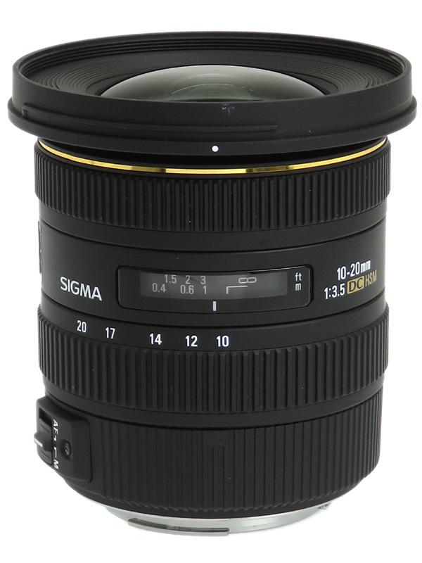 【SIGMA】シグマ『10-20mm F3.5 EX DC HSM』キヤノンEF-Sマウント 16-32mm相当 デジタル一眼レフカメラ用レンズ 1週間保証【中古】b02e/h19AB