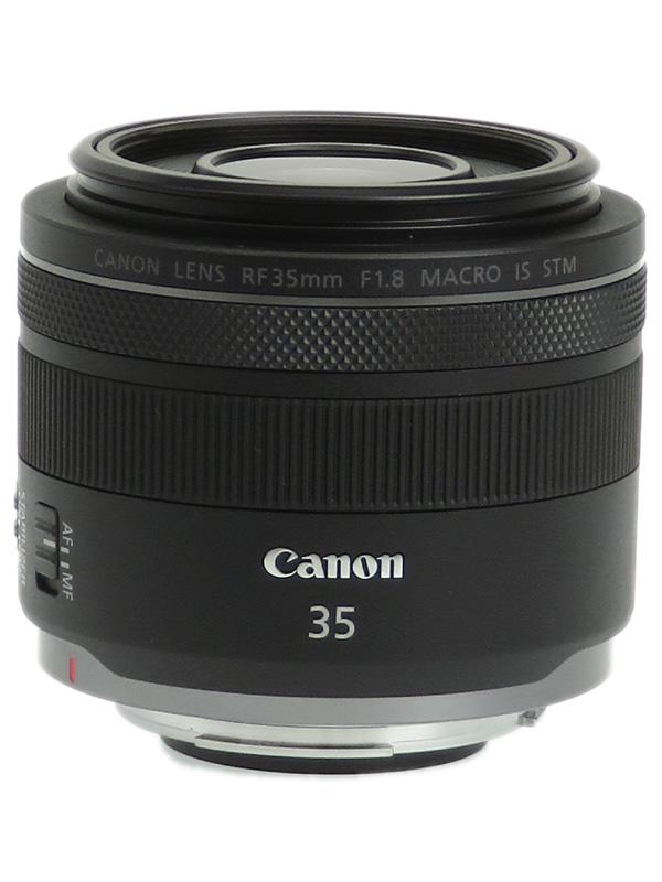 【Canon】キヤノン『RF35mm F1.8 MACRO IS STM』RF3518MISSTM ハーフマクロ ミラーレス一眼カメラ用レンズ 1週間保証【中古】b02e/h03AB