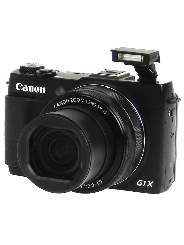 【Canon】キヤノン『PowerShot G1 X Mark II』PSG1XMARKII 1500万画素 光学5倍 広角24mm フルHD Wi-Fi コンパクトデジタルカメラ 1週間保証【中古】b02e/h09B