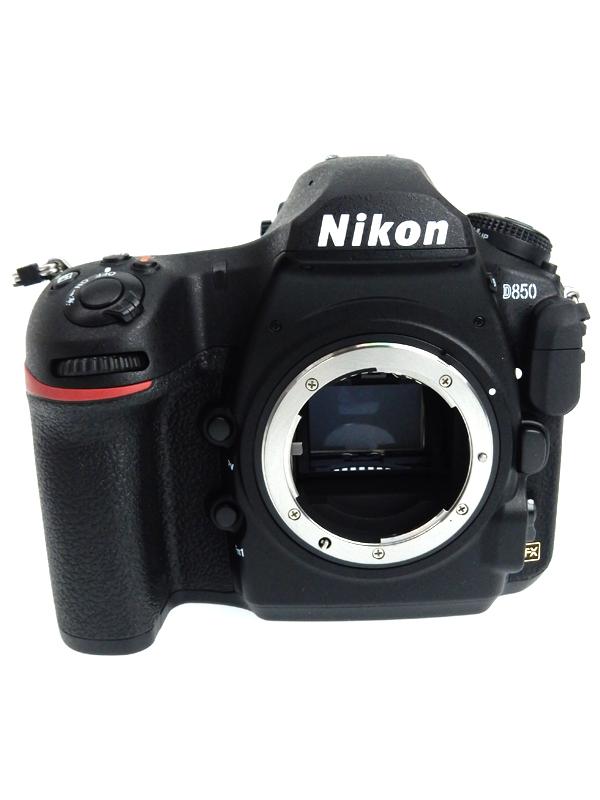 【Nikon】ニコン『D850 ボディ』4575万画素 FXフォーマット ISO25600 フルHD動画 SDXC デジタル一眼レフカメラ 1週間保証【中古】b03e/h15A