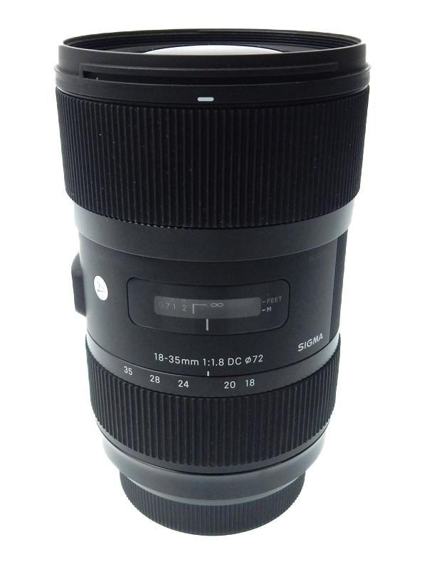 【SIGMA】シグマ『18-35mm F1.8 DC HSM』ソニーAマウント APS-C 27-52.5mm相当 Artライン デジタル一眼カメラ用レンズ 1週間保証【中古】b03e/h16AB