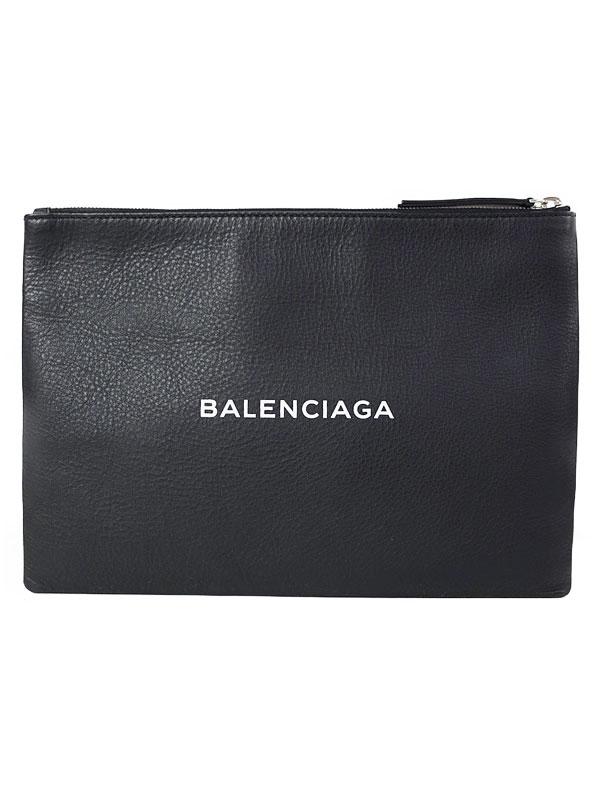 【BALENCIAGA】バレンシアガ『ショッピング クリップ M』485110 メンズ クラッチバッグ 1週間保証【中古】b06b/h17A