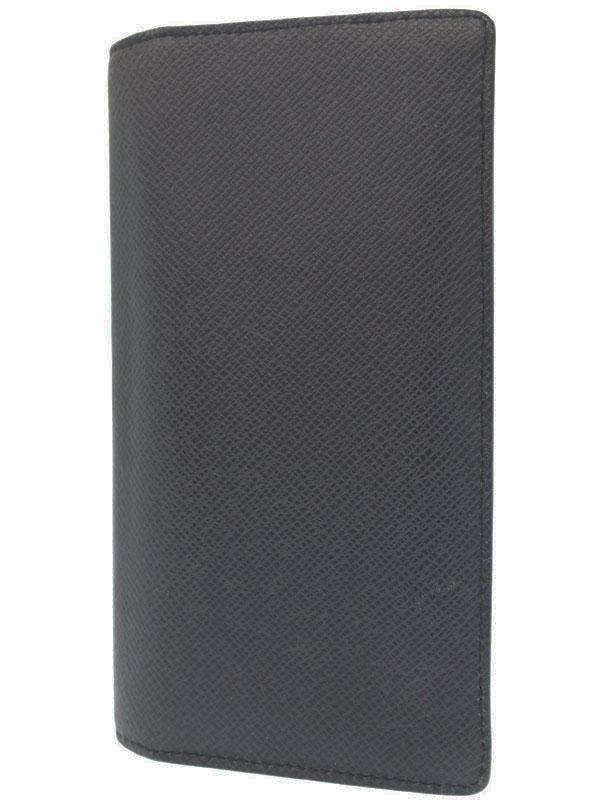 【LOUIS VUITTON】ルイヴィトン『タイガ ポルトフォイユ ブラザ』M32572 メンズ 二つ折り長財布 1週間保証【中古】b01b/h02AB