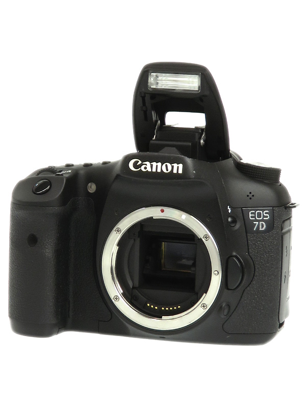【Canon】キヤノン『EOS 7Dボディー』EOS7DBODY APS-C 1800万画素 フルHD動画 CFカード デジタル一眼レフカメラ 1週間保証【中古】b03e/h14B