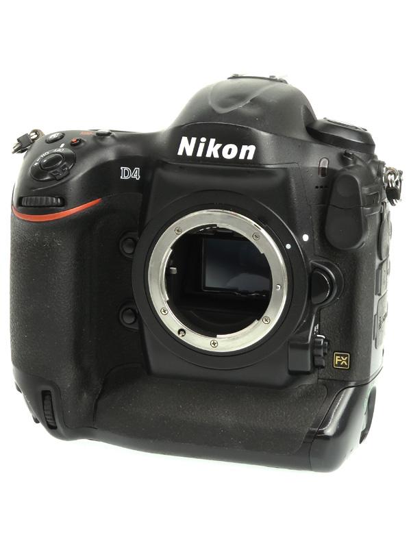 【Nikon】ニコン『D4 ボディ』1620万画素 FXフォーマット フルHD動画 ISO12800 XQD/CF デジタル一眼レフカメラ 1週間保証【中古】b02e/h03B