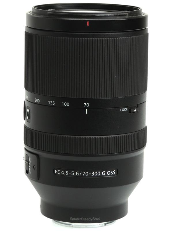【SONY】ソニー『FE 70-300mm F4.5-5.6 G OSS』SEL70300G Eマウント 高解像望遠ズーム フルサイズ対応 デジタル一眼カメラ用レンズ 1週間保証【中古】b02e/h03AB