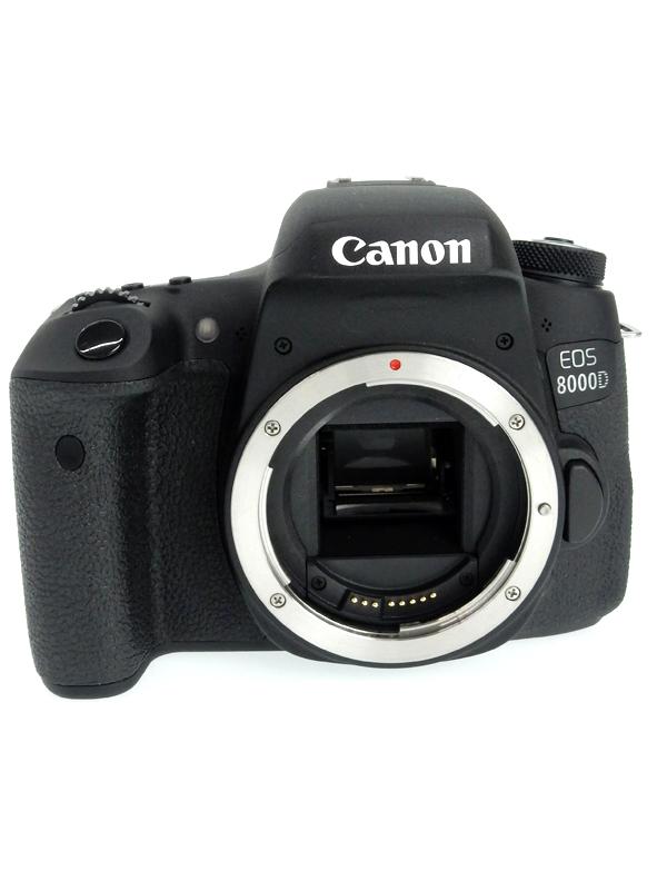 【Canon】キヤノン『EOS 8000D ボディ』EOS8000D 2420万画素 APS-C デジタル一眼レフカメラ 1週間保証【中古】b03e/h11AB