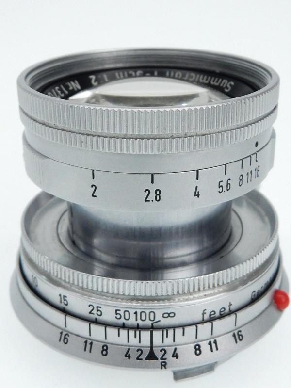 【Leica】ライカ『ズミクロンM 50mmF2 沈胴』1370596 レンジファインダーカメラ用 レンズ 1週間保証【中古】b03e/h10B