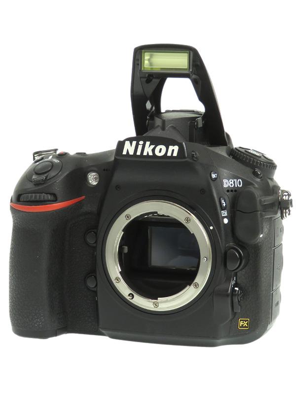 【Nikon】ニコン『D810 ボディ』FXフォーマット 3635万画素 ISO100-12800 フルHD動画 デジタル一眼レフカメラ 1週間保証【中古】b03e/h11B