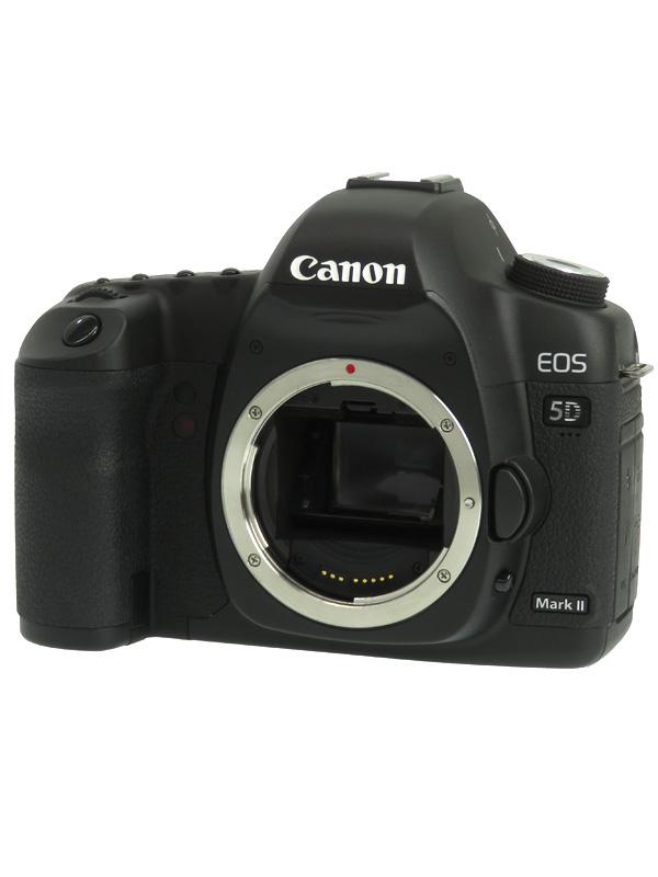 【Canon】キヤノン『EOS 5D Mark IIボディー』EOS5DMK2 2230万画素 フルサイズ CFカード デジタル一眼レフカメラ 1週間保証【中古】b06e/h17B