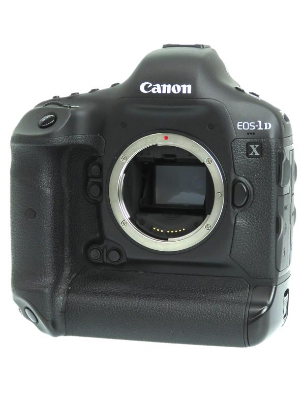 【Canon】キヤノン『EOS-1D Xボディー』EOS-1DX 1810万画素 フルサイズ CFカード デジタル一眼レフカメラ 1週間保証【中古】b06e/h16B
