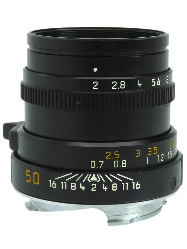 【Leica】ライカ『ズミクロンM 50mmF2 第4世代』レンジファインダーカメラ用レンズ 1週間保証【中古】b06e/h17AB