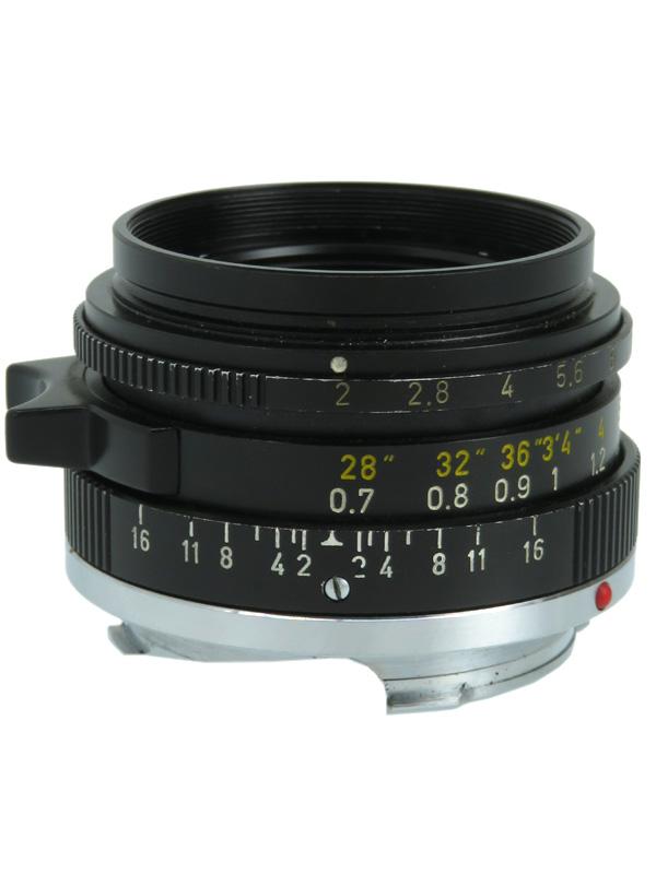 【Leica】ライカ『ズミクロン35mmF2 第3世代』レンジファインダーカメラ用レンズ 1週間保証【中古】b06e/h17B