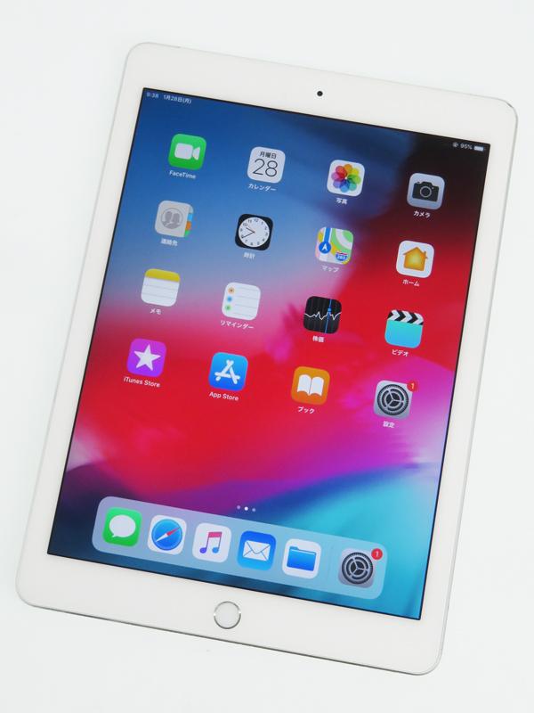 【Apple】【docomoのみ】アップル『iPad Air 2 Wi-Fi + Cellular 16GB docomo』MGH72J/A タブレット 1週間保証【中古】b06e/h16B